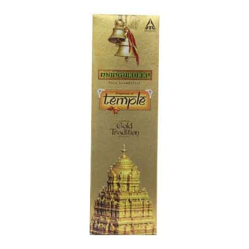 Mangaldeep Temple Yagna Gold Tradition Agarbatti Sticks