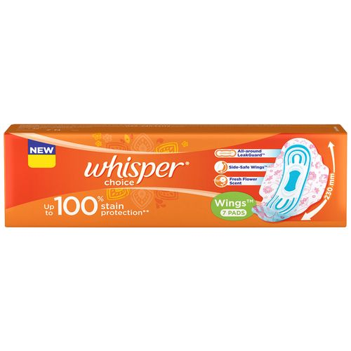 Whisper Sanitary Pads - Choice Wings