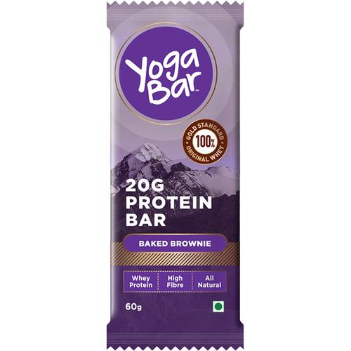 Yoga bar Whey Protein Bar - Baked Brownie