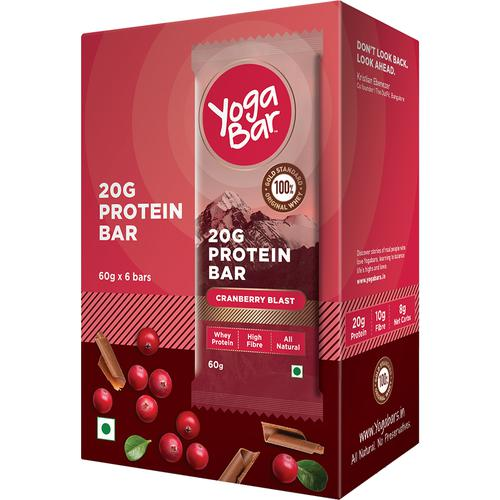 Yoga bar Protein Bar - Chocolate Cranberry