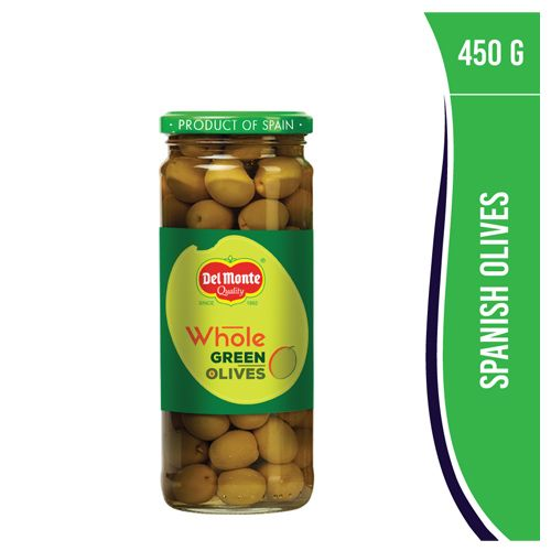 Del Monte Green Olives Whole - Plain