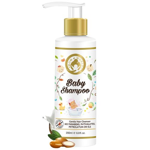Mom & World Tear Free Baby Shampoo