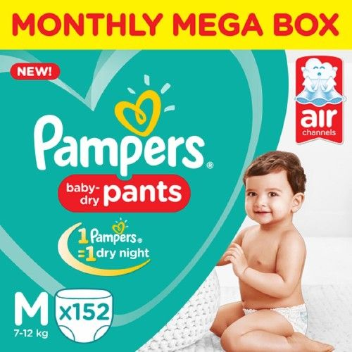 Pampers Medium -152 Diaper Pants