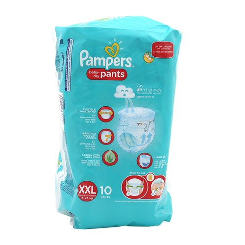 Pampers New Xtra Large Box-10 Diaper Pants