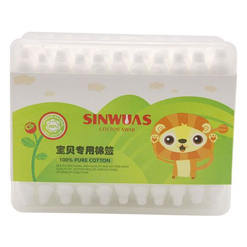 Sinwuas Cotton Ear Buds - Two Sided