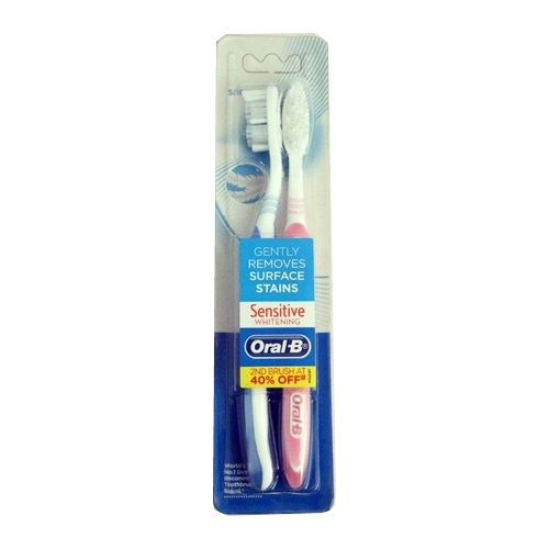 Oral-B Tooth Brush - Sensitive Whitening Value Pack