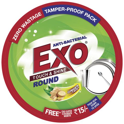 Exo Dishwash Bar - Anti- Bacterial Round