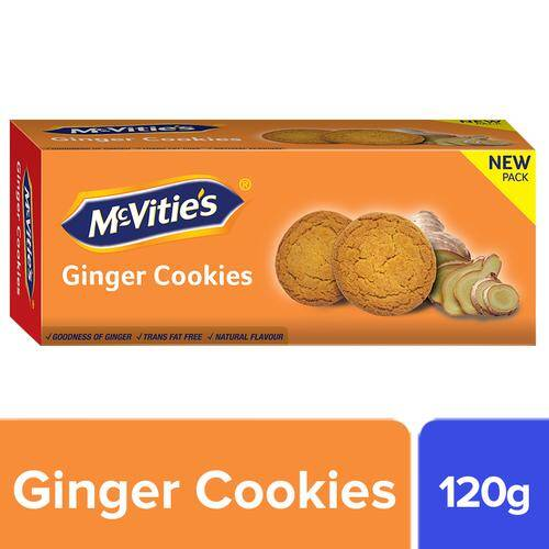 Mcvities Cookies - Ginger