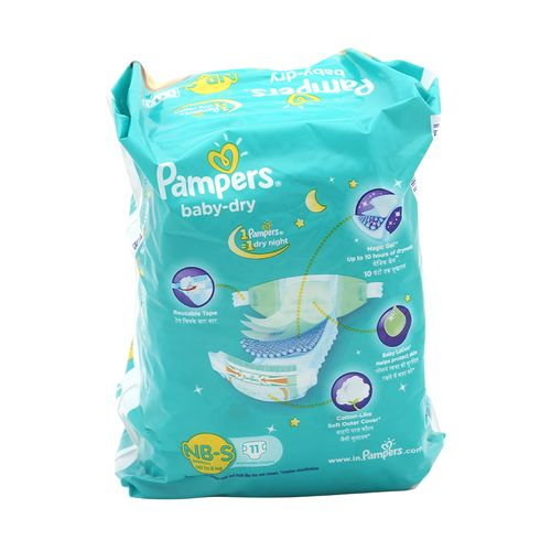 Pampers Baby Dry Small-11 Diapers