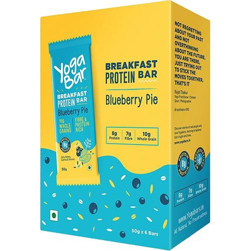 Yoga bar Breakfast Protein Bar - Blueberry