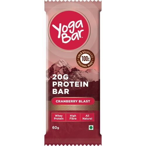 Yoga bar Whey Protein Bar - Cranberry Blast