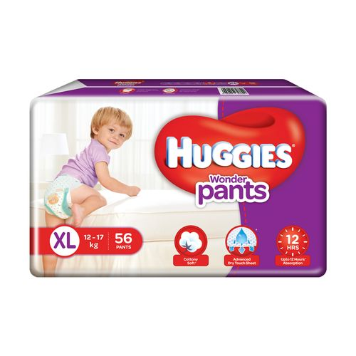 Huggies Wonder Pants Xtra Large-56 Diapers