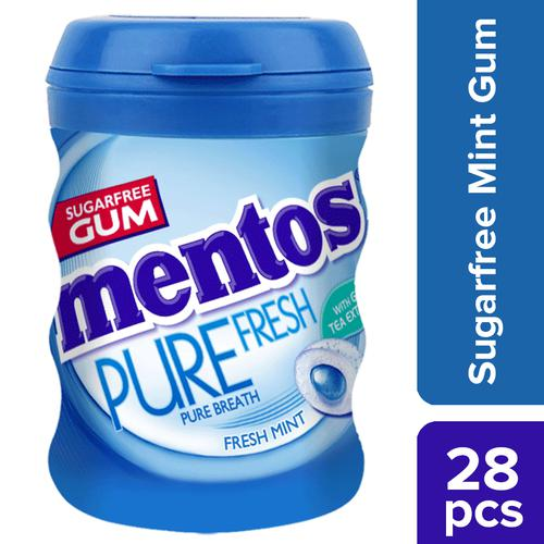 Mentos Pure Fresh Sugarfree Mint Flavour Chewing Gum