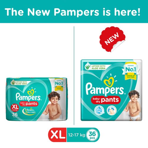 Pampers New Xtra Large -36 Diaper Pants