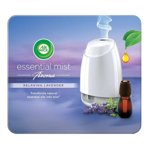 Air wick Essential Mist Automatic Fragrance Mist Diffuser Kit - Machine + Relaxing Lavender Refill