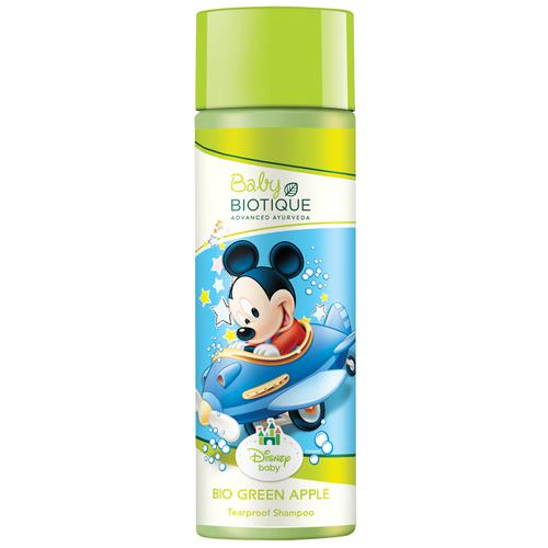 BIOTIQUE Disney baby - Bio Green Apple Mickey Tearproof Shampoo