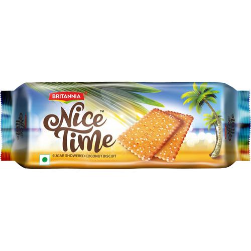 Britannia Nice Time Coconut Biscuits