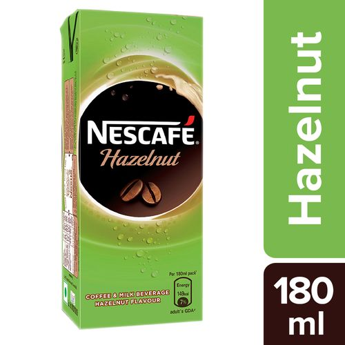 Nescafe Hazelnut Coffee - Ready  To Drink