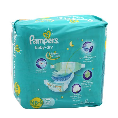 Pampers Baby Dry Small-22 Diapers