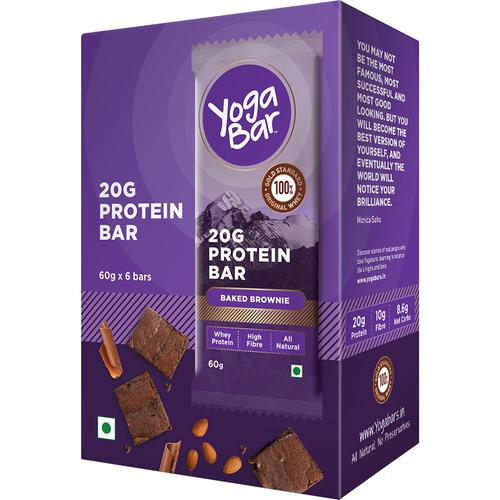 Yoga bar Whey Protein Bar - Chocolate Brownie