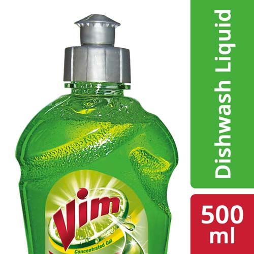 Vim Dishwash Gel - Lime