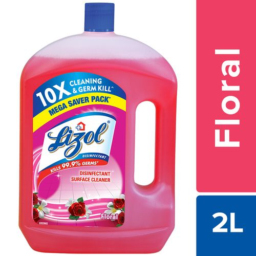 Lizol Disinfectant Surface Clener - Floral
