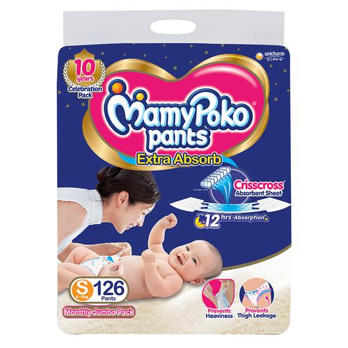 Mamypoko Pants - Extra Diaper, Small Size