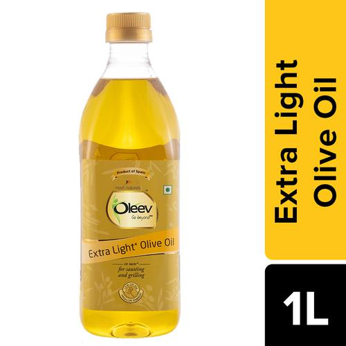 Oleev Extra Light Olive Oil - Frying, Sauteing & Grilling