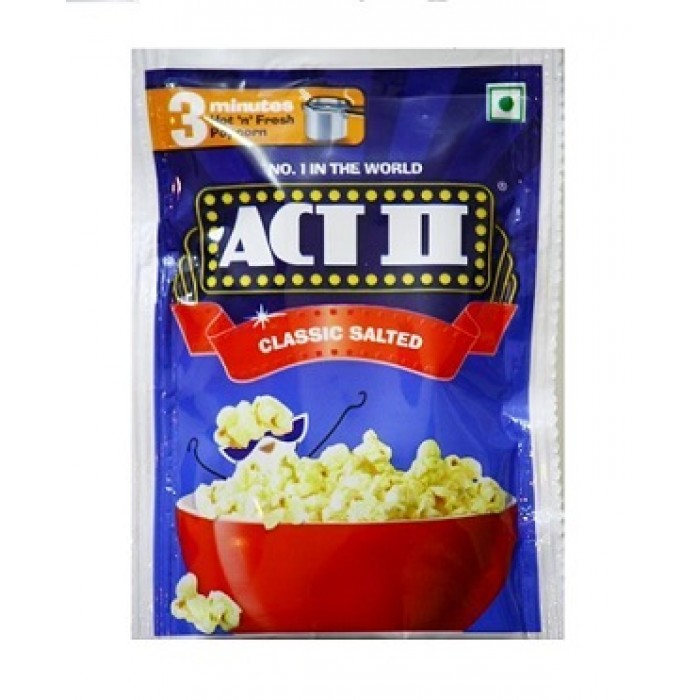 Act II Instant Pop Corn Classic Salted