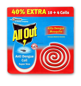 All Out Super Size Anti Dengue Coil