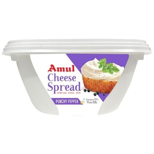 Amul Cheese Spread Punchy Pepper