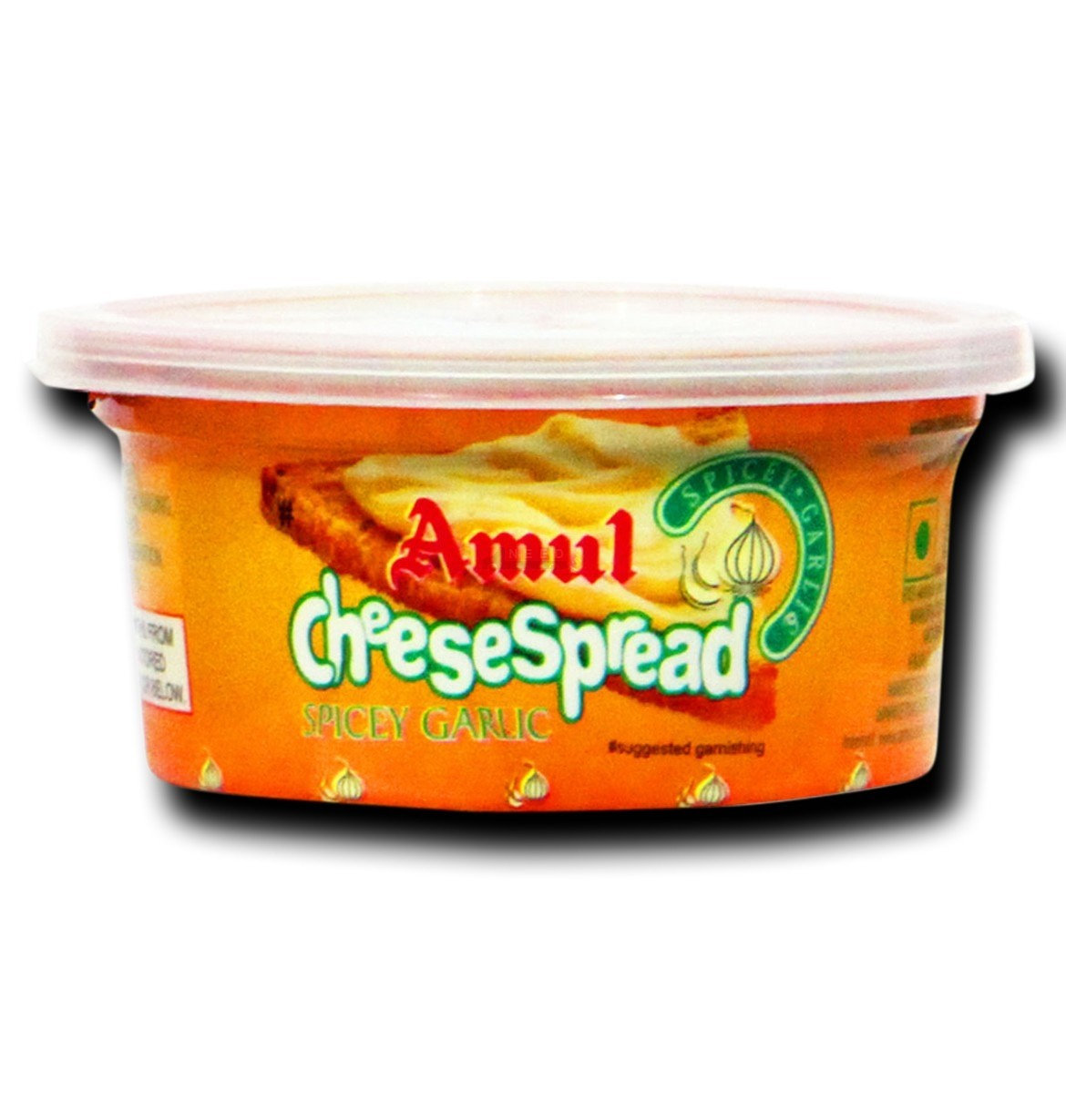 Amul Cheese Spread Spicy Garlic