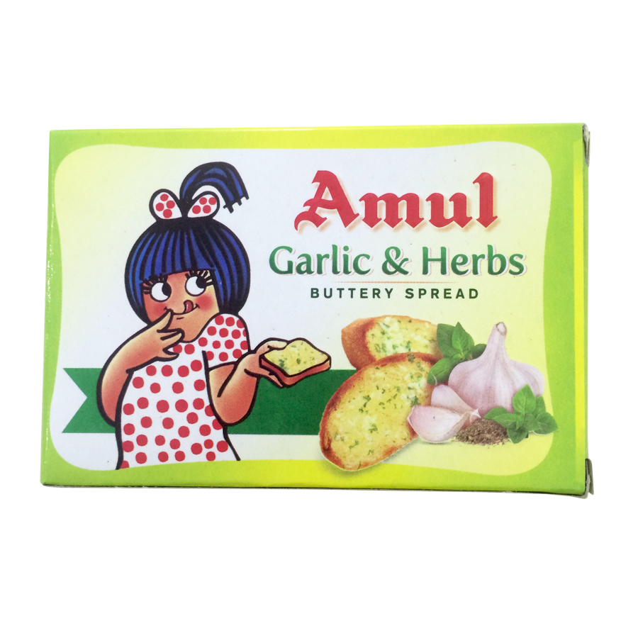Amul Garlic and Herbs Buttery Spread