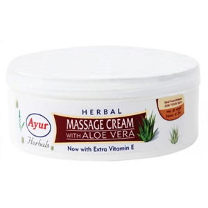 Ayur Herbal Massage Cream With Aloe Vera