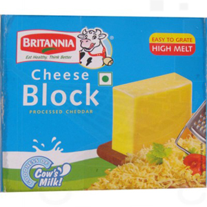 Britannia Processed Cheddar Cheese Block