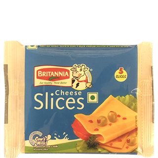 Britannia Processed Cheddar Cheese Slice