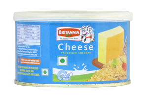 Britannia Processed Cheddar Cheese Tin
