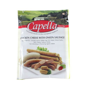 Capella Chicken Sausage  Cheese With Onion