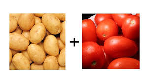 Combo Of Potato And Tomato 1 Kg Each
