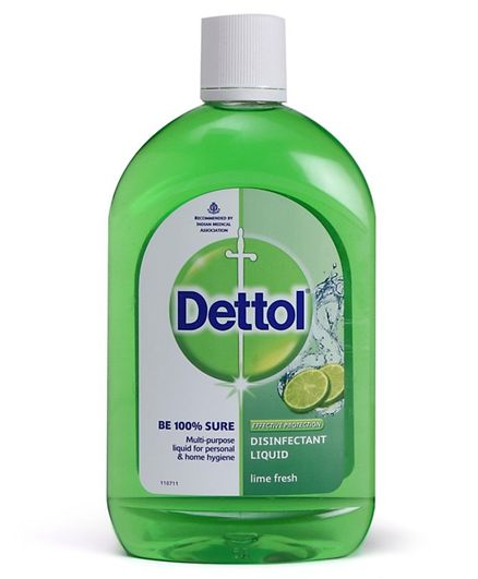 Dettol Disinfectant Cleaner For Home - Lime Fresh