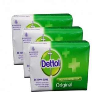 Dettol Soap Original (Pack of 3)