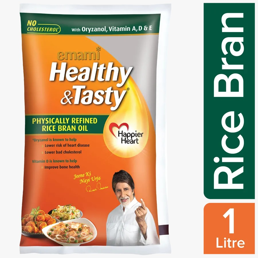 Emami Healthy & Tasty - Rice Bran Oil