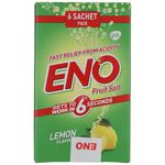 Eno Fruit Salt - Lemon Flavor 6 Sachet