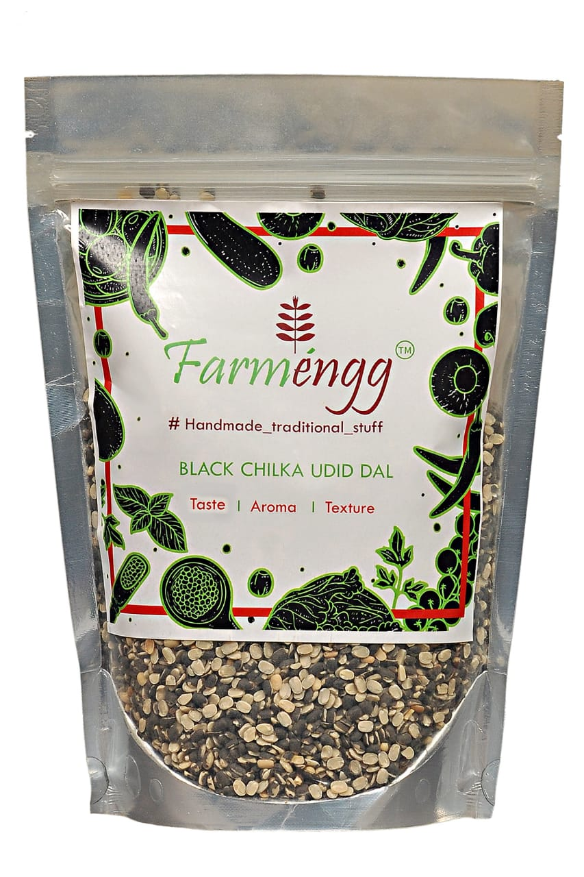 Farmengg Unpolished Black Gram Chilka Urad Dal