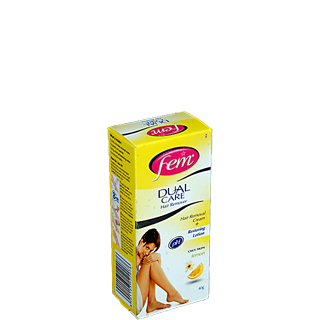 Fem Dual Care Lemon Hair Removal Cream