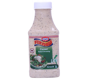 Fun Foods Caesar Salad Dressing Lite Greek Salad Dressing