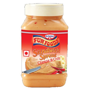 Fun Foods Cheese and Chilli Sandwich Spread