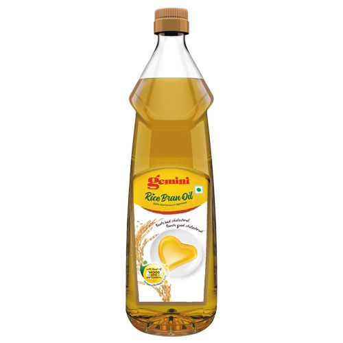 Gemini Rice Bran Oil Bottle