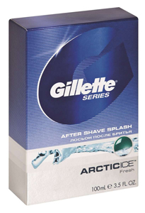 Gillette Arctic Ice After Shave Splash