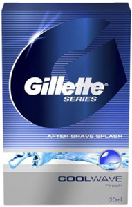 Gillette Coolwave After Shave Splash